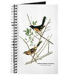 Audubon Towhee Bird Journal