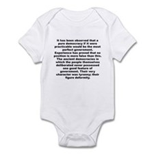 Funny Alexander hamilton Infant Bodysuit
