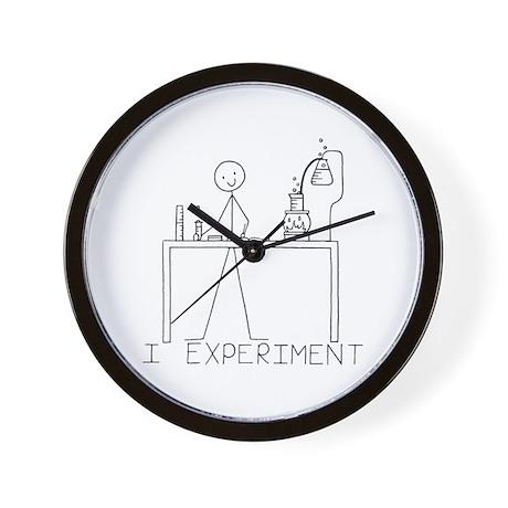 I Experiment Wall Clock