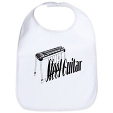 Steel Guitar Baby Bib