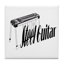 Steel Guitar Tile Coaster