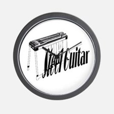 Steel Guitar Wall Clock