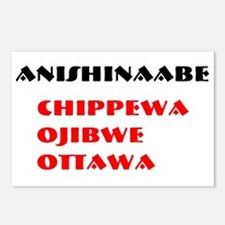 ANISHINAABE Postcards (Package of 8)