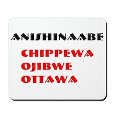 ANISHINAABE Mousepad