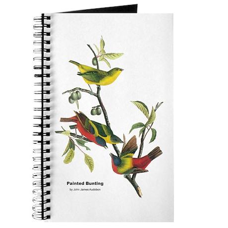 Audubon Painted Bunting Bird Journal