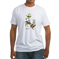 Audubon Painted Bunting Bird (Front) Shirt