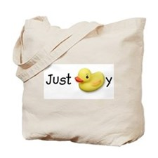 JUST DUCKY, Tote Bag