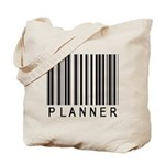 Planner Barcode Tote Bag