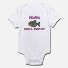Piranha Trapped In A Woman's Body Infant Bodysuit