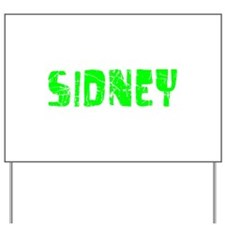 Sidney Faded (Green) Yard Sign