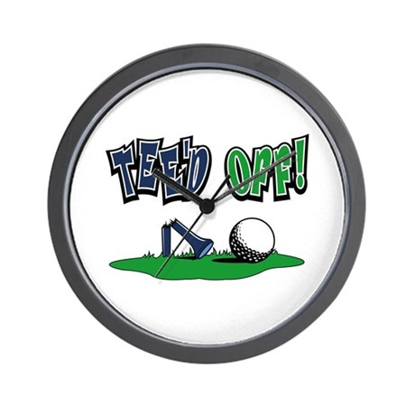 Funny Golf Gifts Wall Clock