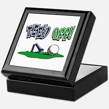 Funny Golf Gifts Keepsake Box