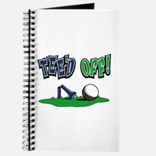 Funny Golf Gifts Journal