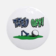 Funny Golf Gifts Ornament (Round)