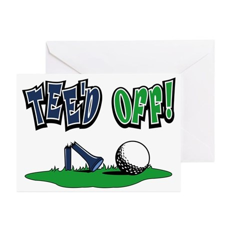 Funny Golf Gifts Greeting Cards (Pk of 10)