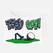 Funny Golf Gifts Greeting Card