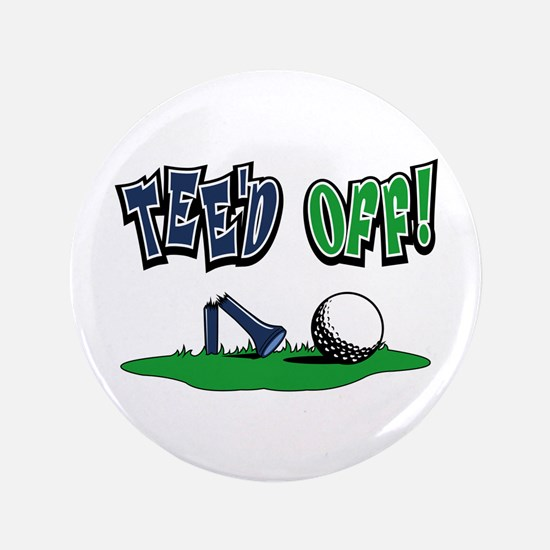 """Funny Golf Gifts 3.5"""" Button"""