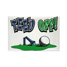 Funny Golf Gifts Rectangle Magnet