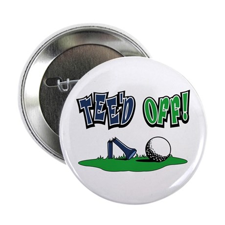"""Funny Golf Gifts 2.25"""" Button (10 pack)"""
