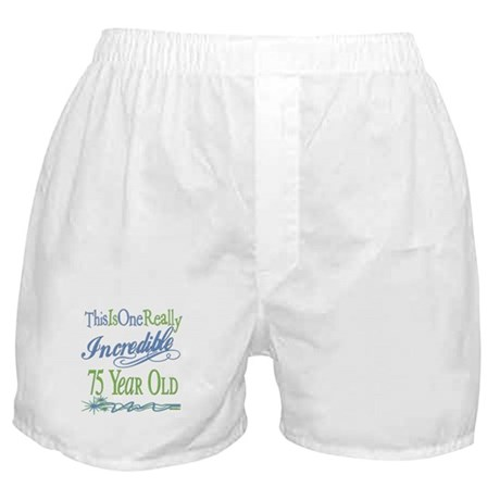 Incredible 75th Boxer Shorts