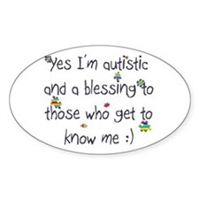 Get to know me Oval Sticker (10 pk)