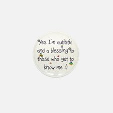Get to know me Mini Button (100 pack)