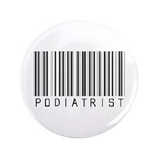 "Podiatrist Barcode 3.5"" Button"