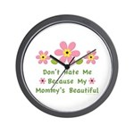 Funny Mommy Beautiful Wall Clock