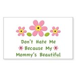Funny Mommy Beautiful Rectangle Sticker