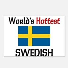 World's Hottest Swedish Postcards (Package of 8)