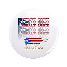 """Puerto rican pride 3.5"""" Button"""