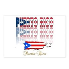 Puerto rican pride Postcards (Package of 8)