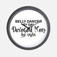 Belly Dancer Devoted Mom Wall Clock