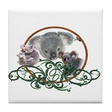 Koala Bear Tile Coaster