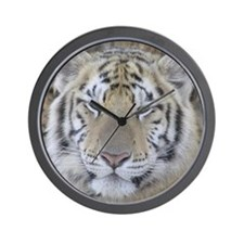 Tiger Portait Wall Clock