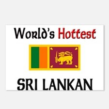 World's Hottest Sri Lankan Postcards (Package of 8