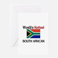 World's Hottest South African Greeting Card