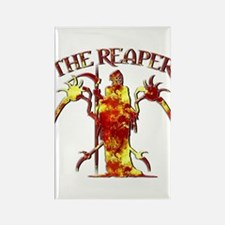 The Reaper 6 Rectangle Magnet