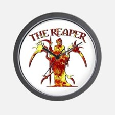 The Reaper 6 Wall Clock