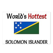 World's Hottest Solomon Islander Postcards (Packag