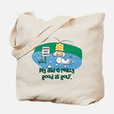 Dad's Golf Gifts Tote Bag