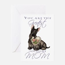 Scottie Mother's Day Greeting Card