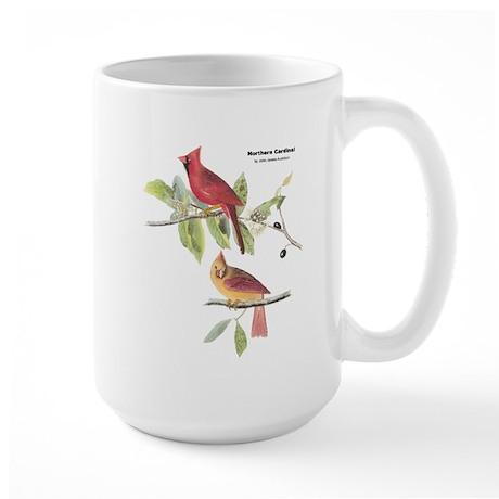 Audubon Northern Cardinal Bird Large Mug