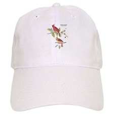 Audubon Northern Cardinal Bird Baseball Cap