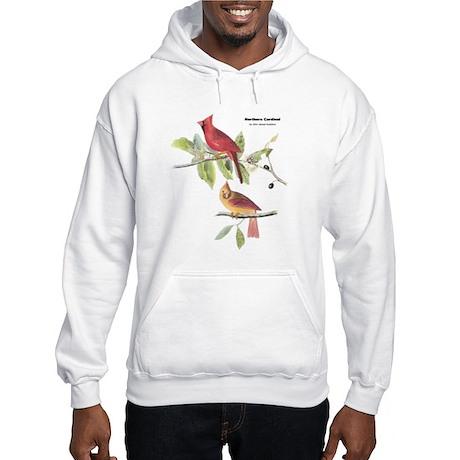 Audubon Northern Cardinal Bird Hooded Sweatshirt
