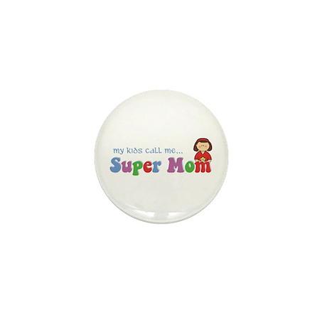 Super Mom Mini Button (100 pack)