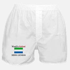 World's Hottest Sierra Leonean Boxer Shorts