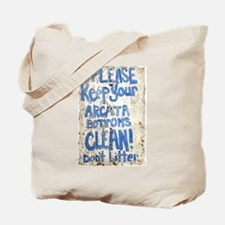 ARCATA BOTTOMS Tote Bag
