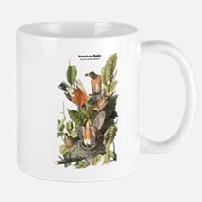 Audubon American Robin Birds Mug