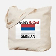 World's Hottest Serbian Tote Bag